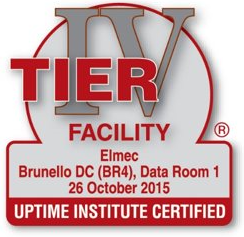 TIER IV facility data center Elmec Informatica