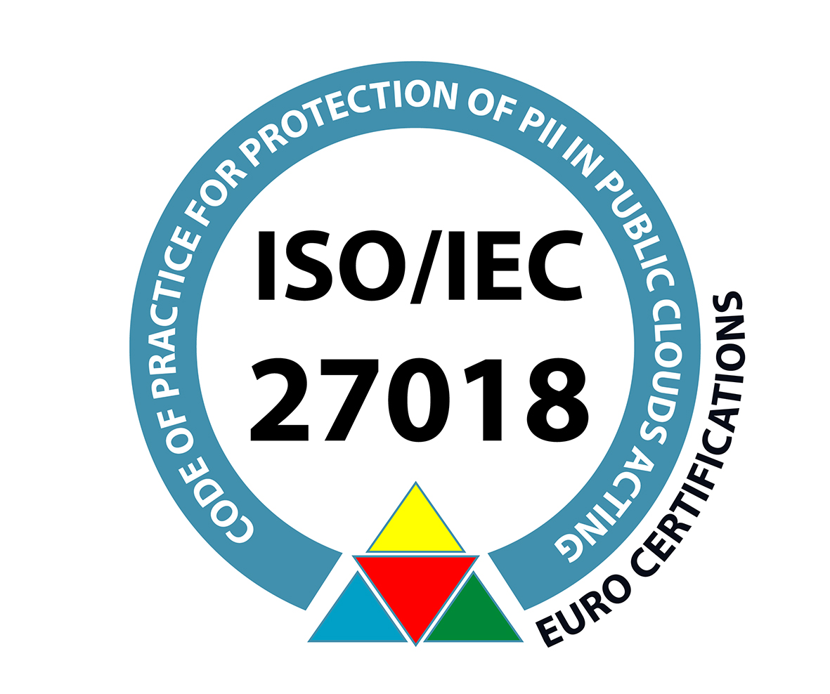 Certificzione ISO27018 Elmec Informatica